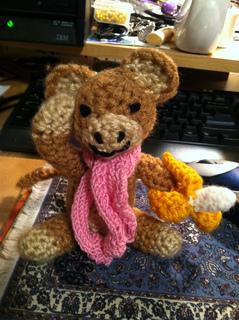 Crochet monkey toy little monkey boy mini monkeys miniature monkey ... | 320x239