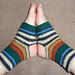 Namaste Yoga/Dance/Tai Chi socks pattern