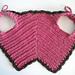 1885 Baby Bib (a vintage reproduction) pattern