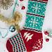 December Dreaming Stocking pattern