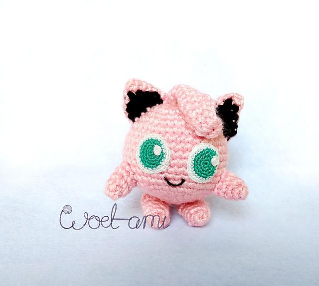 Ravelry: Jigglypuff Pokemon Amigurumi pattern by Cathrine Johansson | 574x640