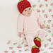 Berry Cute Hat And Bootees pattern