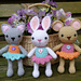 Pocket Pets, Baby Mouse, Rabbit and Cat pattern