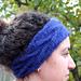Sand Cable headband pattern