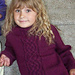 Kid's Classic Cable Sweater #618 pattern