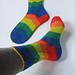Twist and Shout - Socken pattern