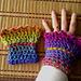 Farbenrausch Pulswärmer pattern