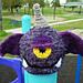 Purple People Eater Hat pattern
