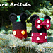 Mickey and Minnie Mouse Inspired Can Cozy pattern