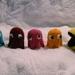 Crocheted Pac-man pattern