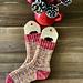 Santa Baby Socks pattern