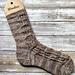 Bygone Days Socks pattern