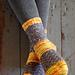 Town Wall Socks pattern
