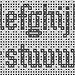 Mosaic Alphabet (stitch pattern) pattern