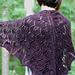 Flourish: A Knitted Triangle Shawl pattern