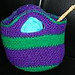 Marvelous Fulled/Felted Mini Tote pattern
