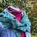 Widdershins scarf pattern