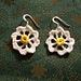 Daisy Daisy Earrings pattern