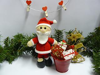 Babbo Natale amigurumi ad uncinetto - Feste - Natale - di Le fate ... | 240x320
