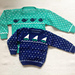#5 Sailboat & Whale Sweaters- child's sweaters pattern