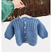 #23 Mock Cable & Basketweave- Baby Sweaters pattern