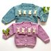 #11 Bunny Sweaters- baby, toddler & kids sweaters pattern