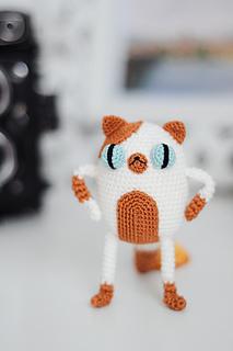 Ravelry: Little Cat Amigurumi pattern by Fay Lyth | 320x213