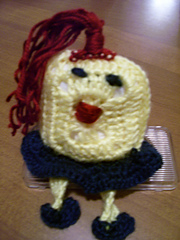 Square Dancing Doll