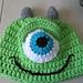 One Eye Green Monster pattern