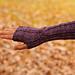 Nejiri wrist warmers pattern
