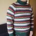 #21 Men's Raglan Sleeve Pullover pattern