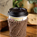 Slip Stitch Coffee Sleeve pattern