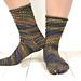 Festival Socks pattern