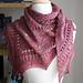 Mirabelle Texture Sampler Shawl pattern