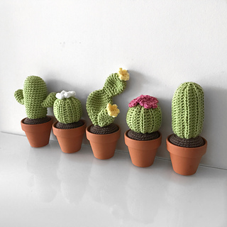 Realistic crocheted cacti and succulents by LunasCrafts on Etsy ... | 320x320