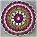 Dahlia Mandala pattern