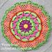 Fireworks Mandala pattern