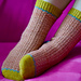 Colour Therapy Socks pattern
