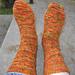 Fall socks pattern