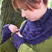 Aronia Cowl & Mitts pattern