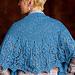 Blue Thistle Shawl pattern